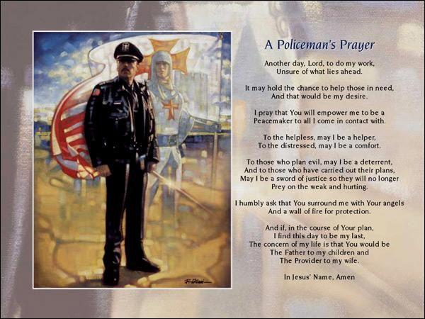 policemans prayer ron dicianni a policemans prayer