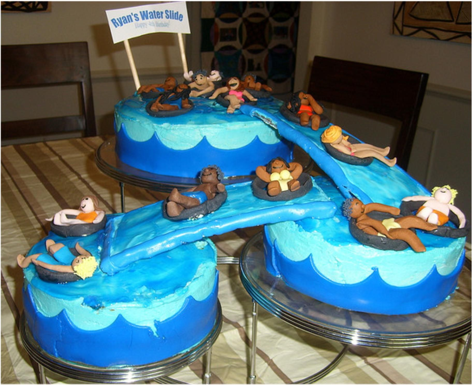 Swimming Pool Cake Abbey Espigh Now All We Need Is A Really Really Really Big Pool Party