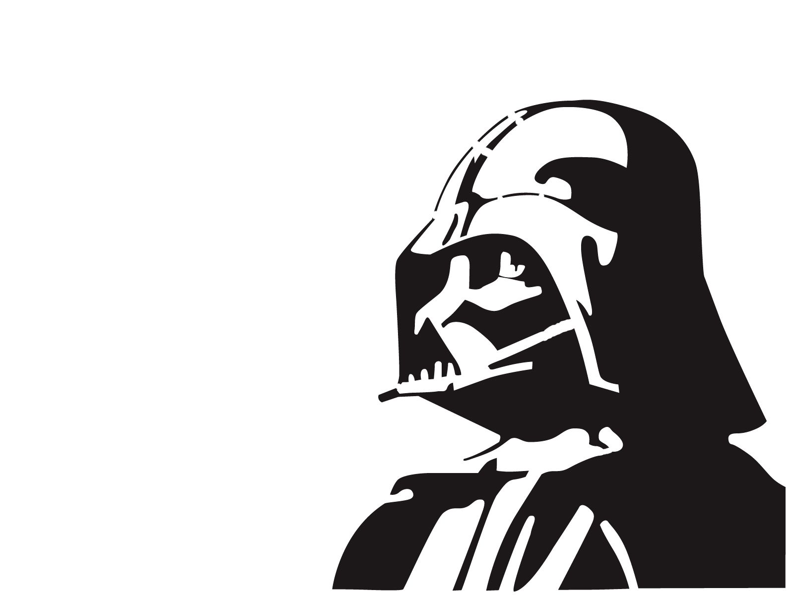darth vader stencil template pochoirspochoir dark vadorstar - Pochoir Dark Vador
