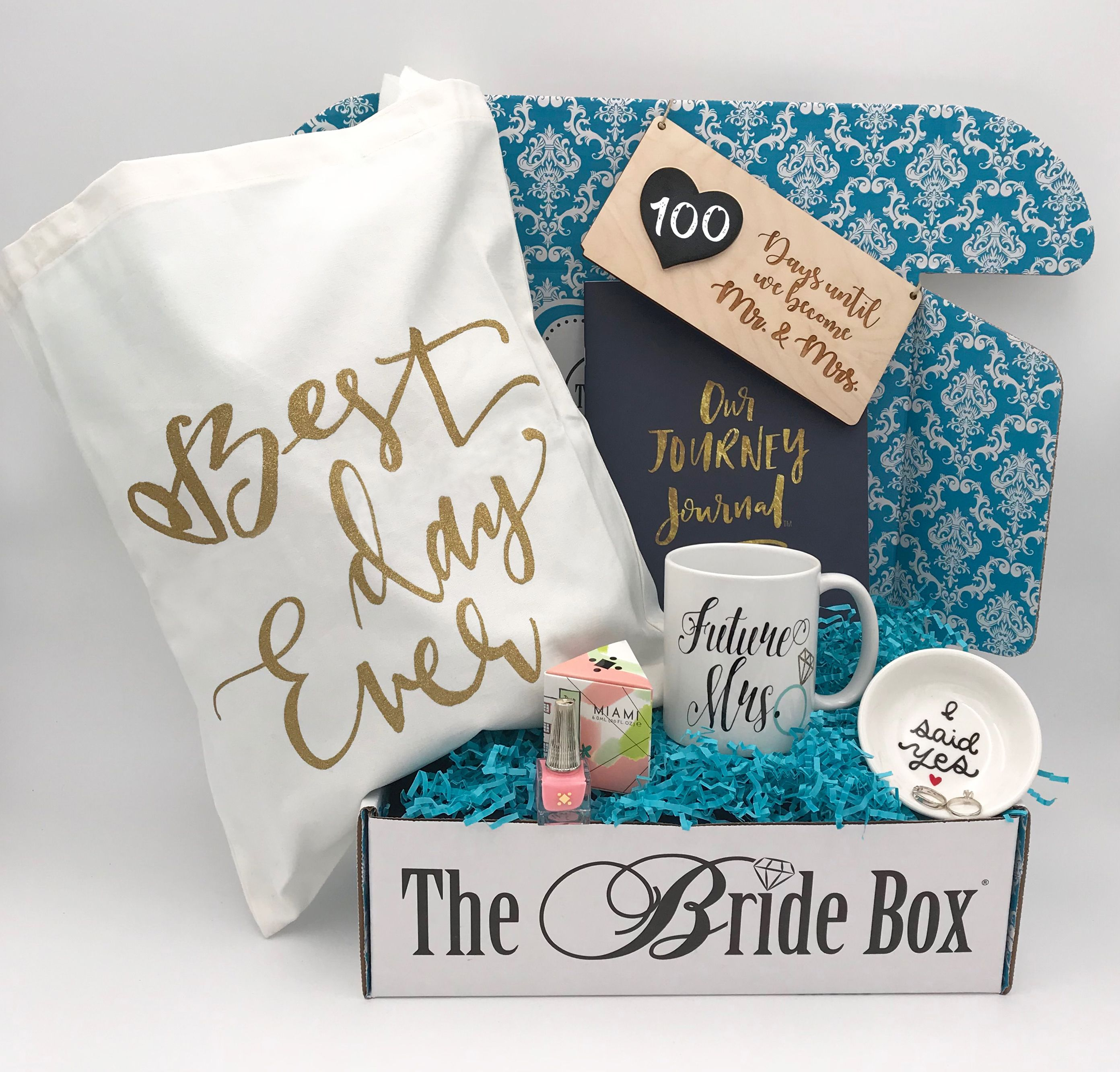 Monthly Subscription Box For Brides Bride To Be Box Wedding Subscription Box Bride