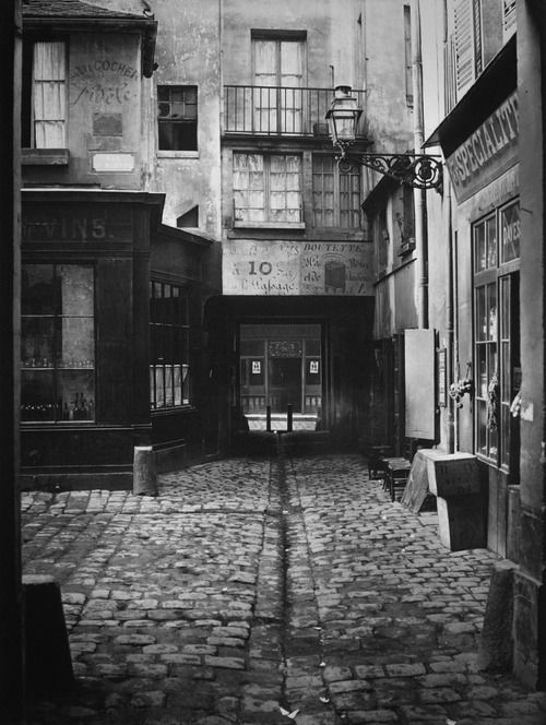 Paris 1860s  Photo: Charles Marville