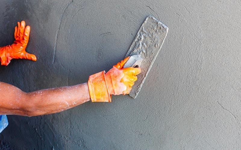 Faire Un Enduit Monocouche Sur Une Facade Exterieure Beton Cire Beton Cire Mur Parement Mural