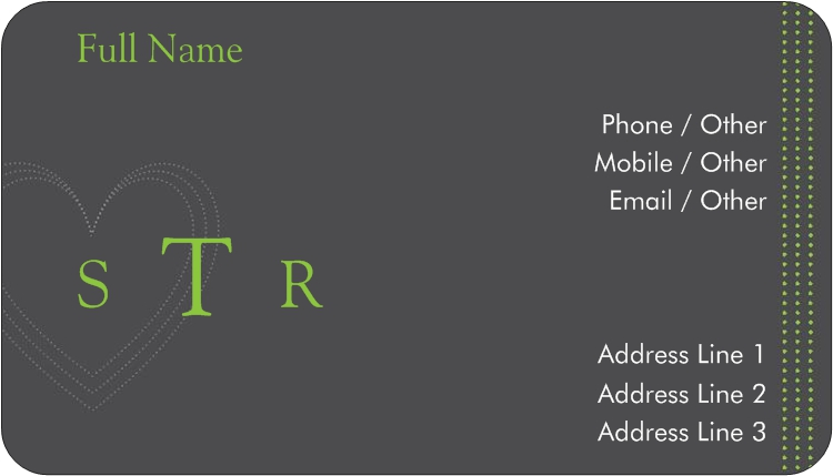 Rounded Corner Business Cards Rounded Edge Cards Vistaprint Personal Business Cards Vistaprint Business Cards Professional Business Cards