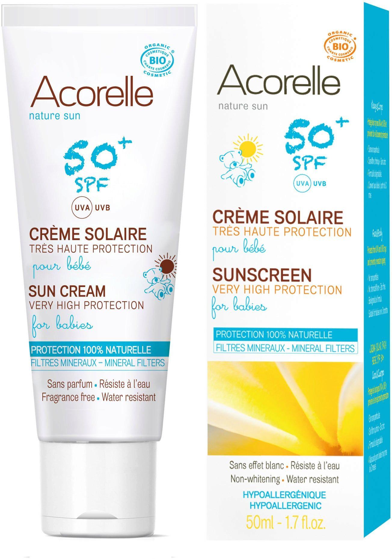Protector Solar Fps 50 Acorelle Albanatur Cosmetica Natural