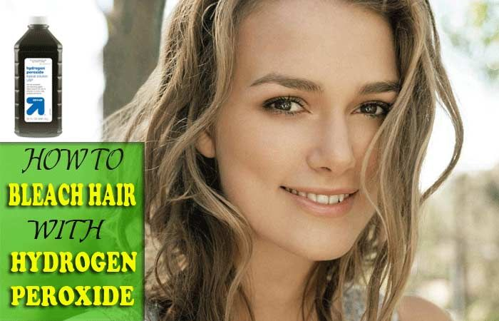How To Bleach Hair With Hydrogen Peroxide At Home Fast Fashion
