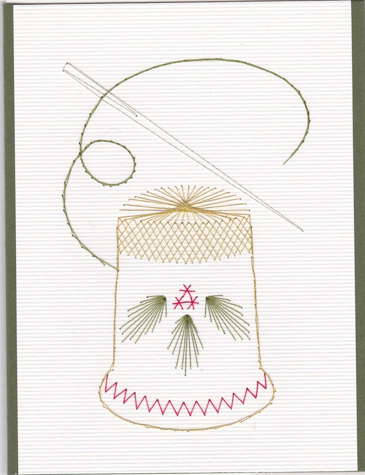 Christmas thimble | Tarjetas | Pinterest | Tarjetas, Amar y Papel