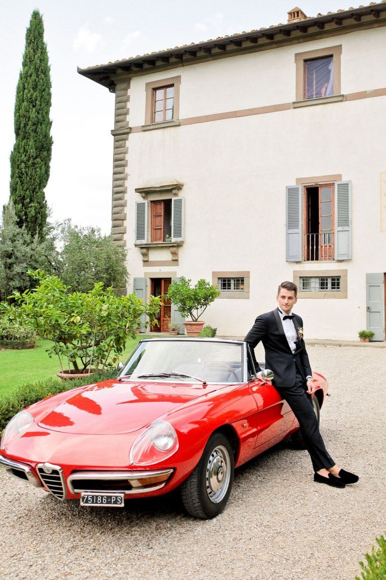 Drive in Style Wedding Cars in Tuscany | Tuscany wedding ...