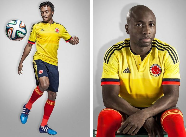 8ae31519f colombia 2015 copa america kits home and away jersey colombian t shirt for south  american football