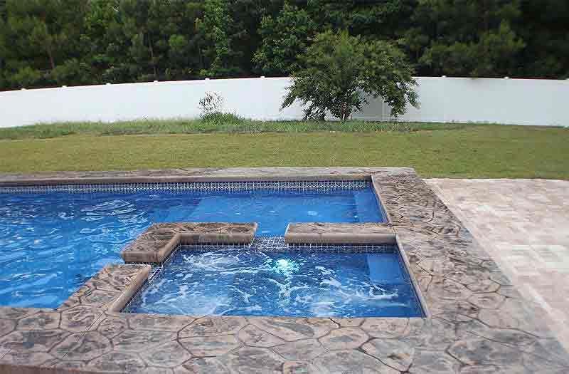 Leisure Pools : Ultimate 40 Pool Model | Backyard patio ...
