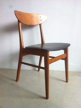 myvintagech chaise danoise en teck farstrup modle 210 - Chaise Danoise