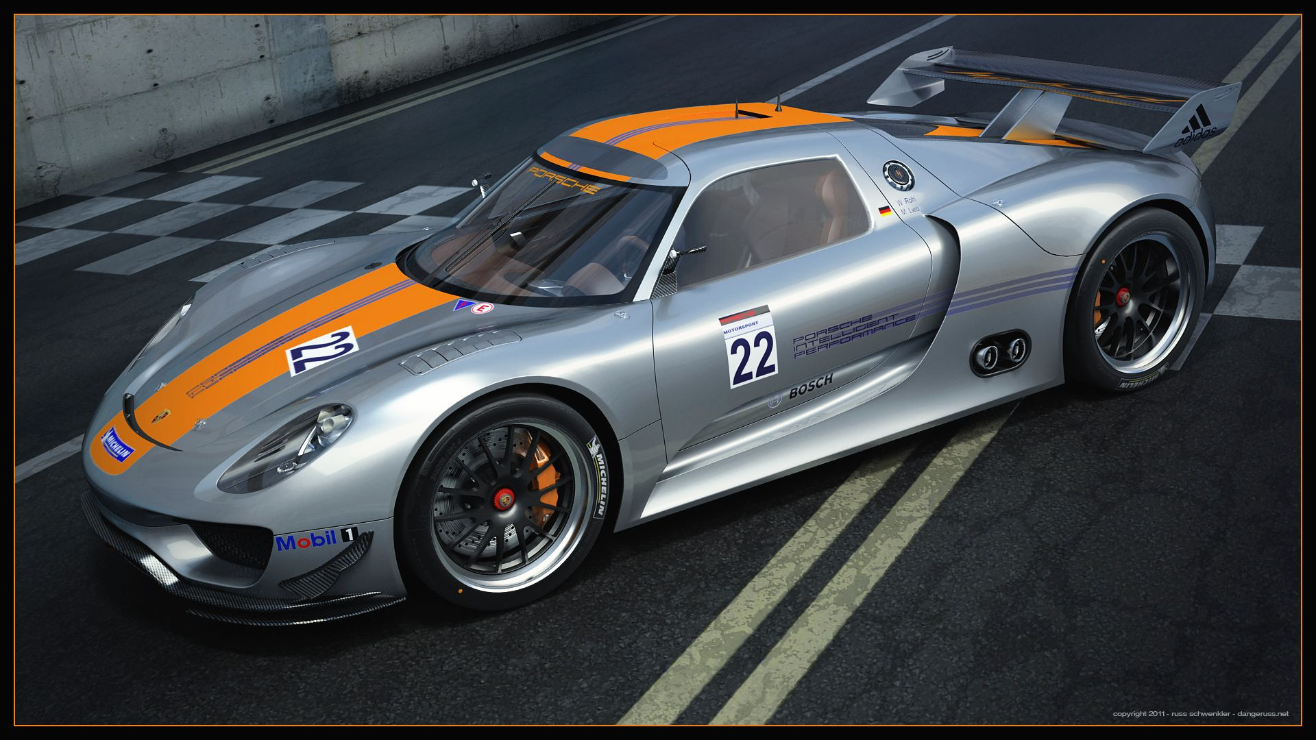 Porsche 918 RSR by dangeruss.deviantart.com on @deviantART