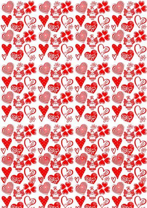 Suficiente Corações Vermelhos para Imprimir | PARA IMPRIMIR | Pinterest  EZ15