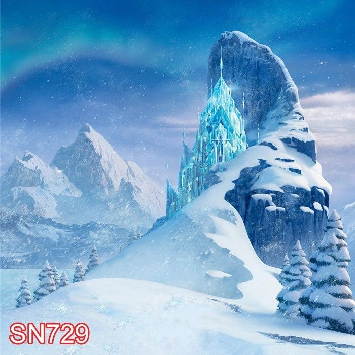 Details about Snow XMAS Winter Outdoor 10x10 FT CP PHOTO SCENIC BACKGROUND BACKDROP SN729