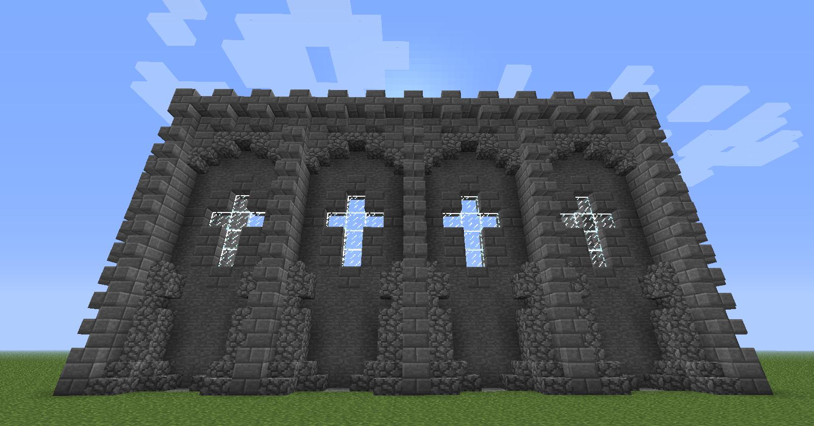 Minecraft castle wall design minecraft seeds minecraft seeds