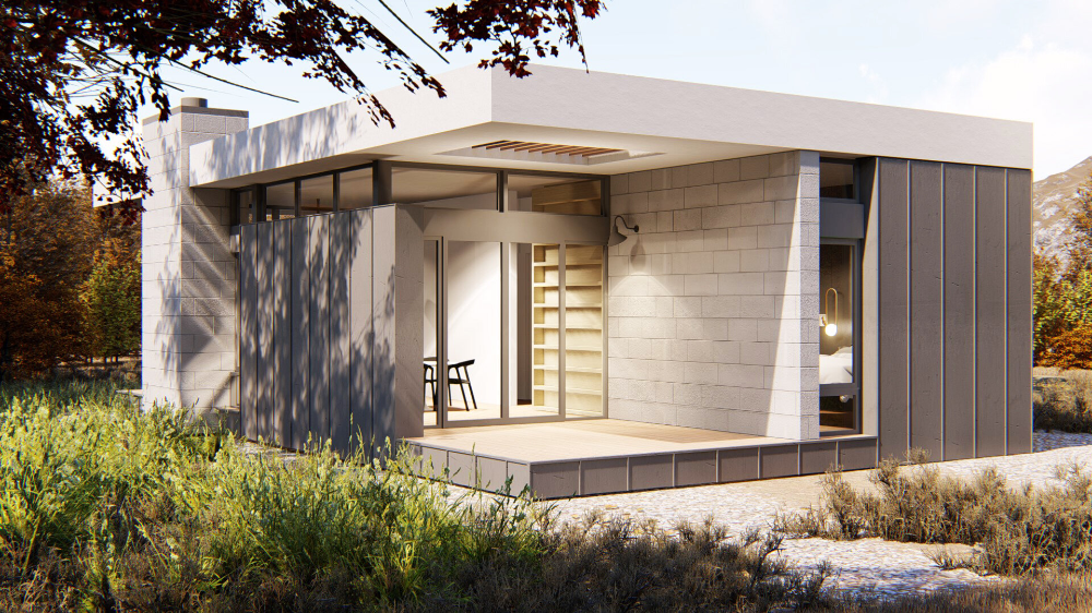 Building A Net Zero Adu In California A Dual Threat For California S Housing And Co2 Crises Rost Architects In 2020 Architect Building Types Of Insulation