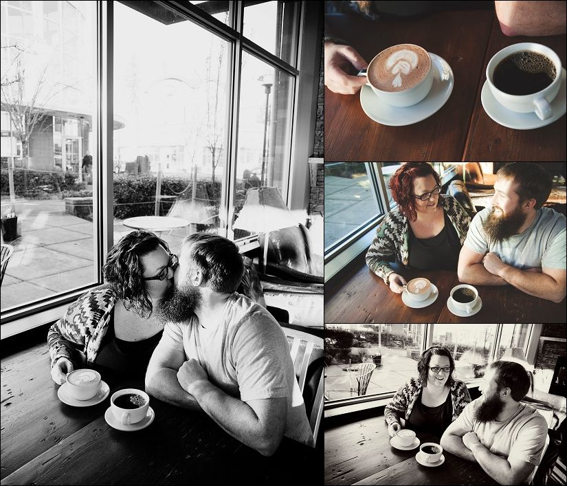 Kayla Taylor A Coffee Shop Date Bothell Photographer Urban Utopia Photography Coffee Shop Photographer Photography