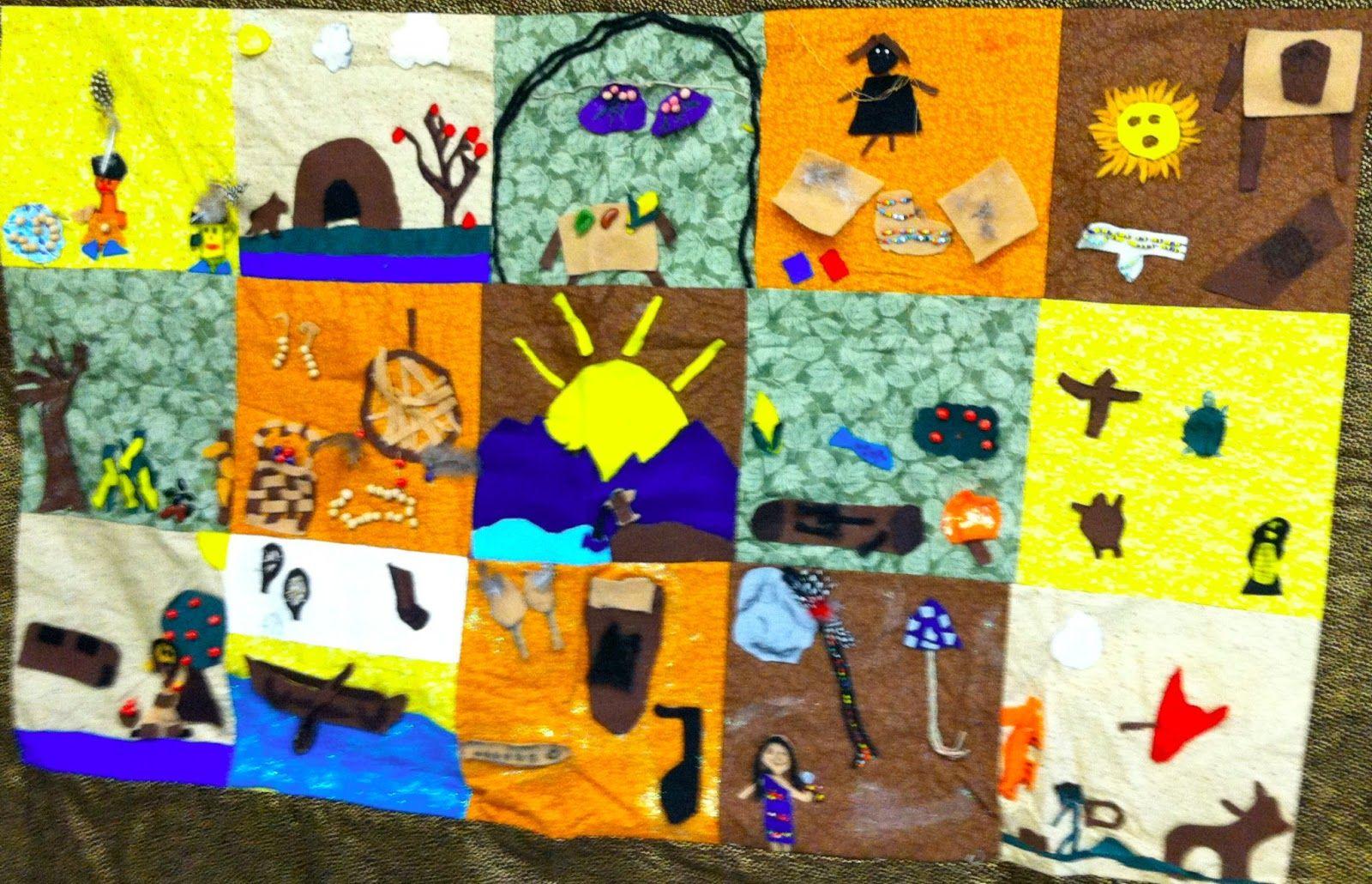 The Learning Lab Blog Native American Abenaki Quilt