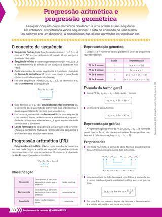 Funcao Exponencial E Funcao Logaritmica Progressao Aritmetica Progressao Geometrica Matematica Enem