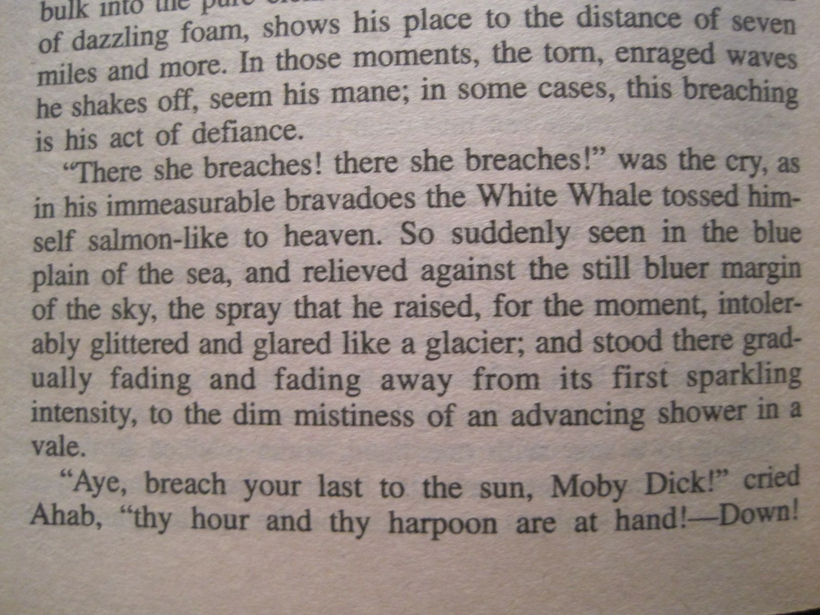 Moby dick ahab quotes