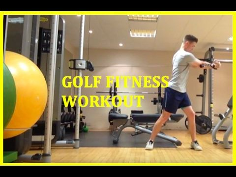 tpi golf fitness  cable core exercises  youtube  golf