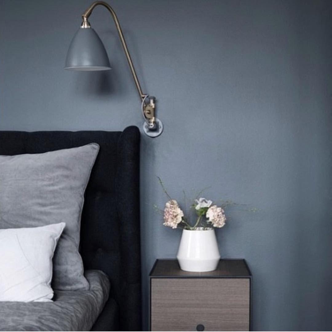 Pin By Susanna Puisto On New Home With Images Blue Bedroom Walls Bedroom Wall Colors Bedroom Interior
