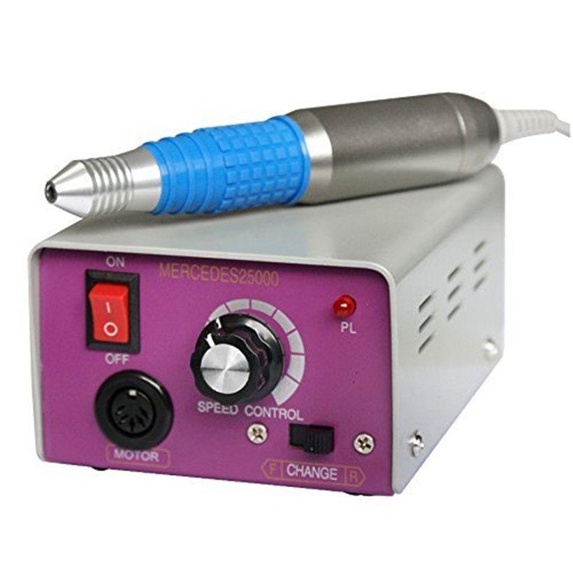 ViewS@ 25000RMP Complete Electric Nail Drill Kit Set Art File Bit ...