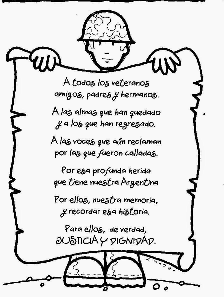 Aulas Solidarias: POESÌA PARA IMPRIMIR | EFEMÉRIDES | Pinterest ...