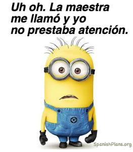 Spanish Teacher Memes Minions Girl Minion Teacher Memes