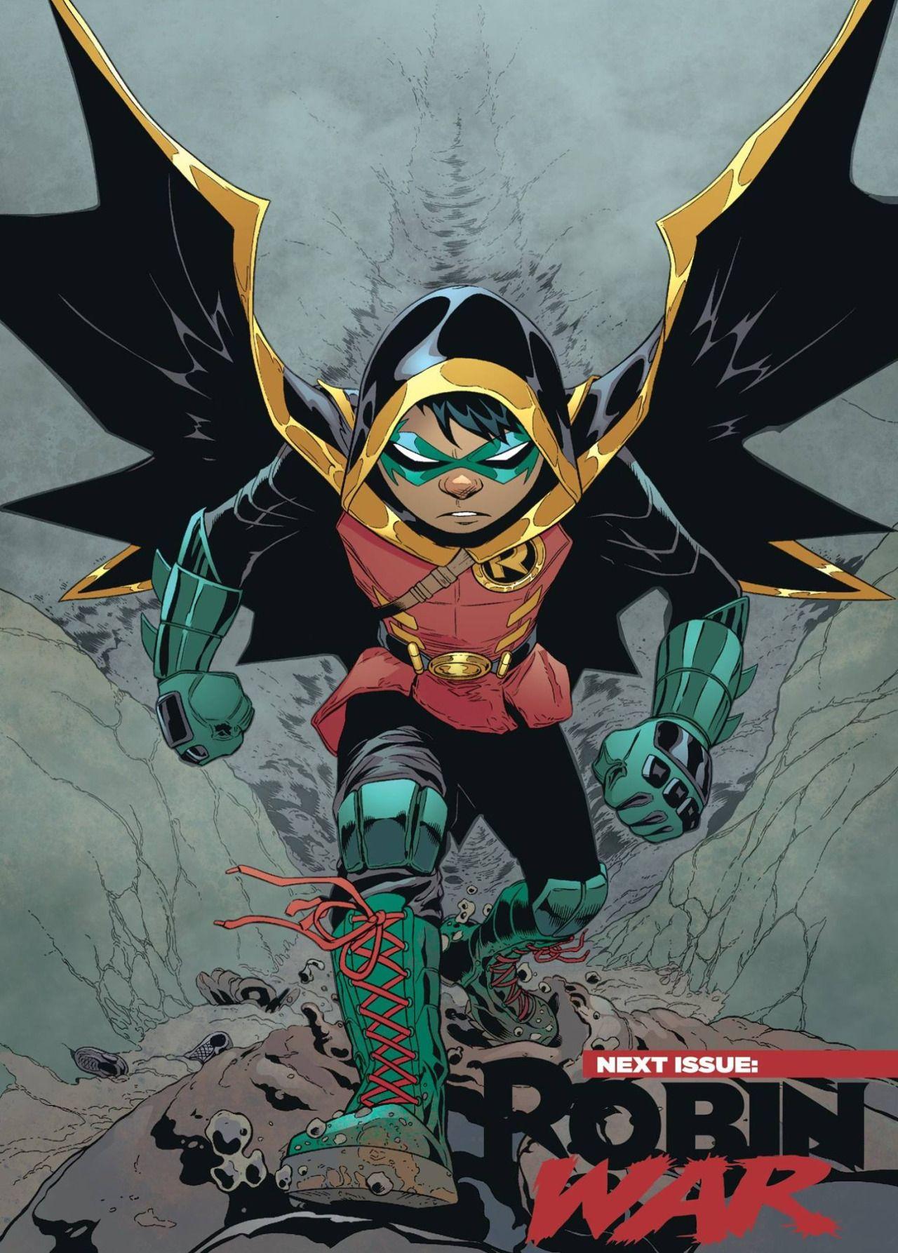 ROBIN son of BATMAN #1 /& #2 1st print DC COMIC set 2015 DEMON Patrick Gleason NM