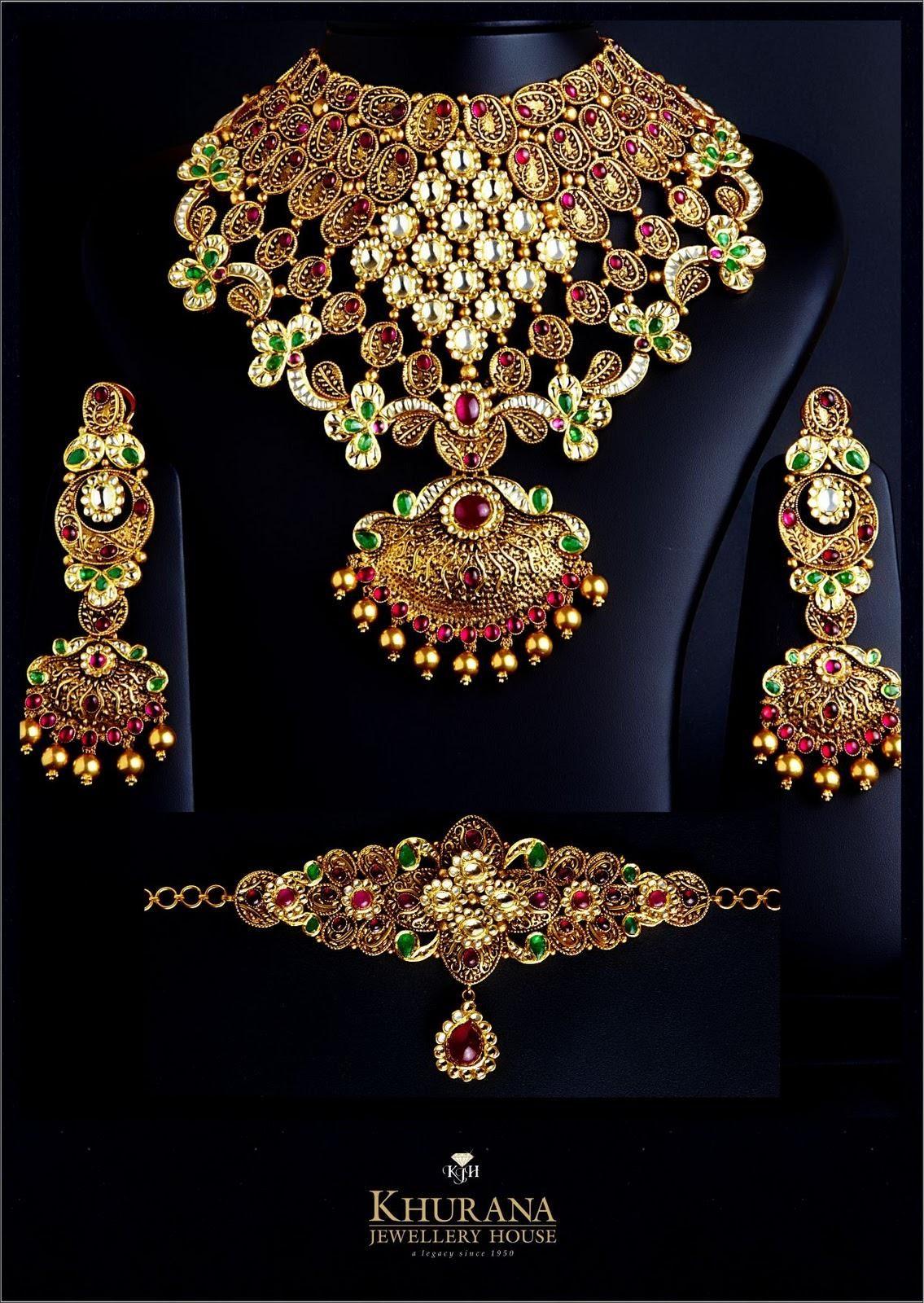 9fd47610bf21e Khurana Diamond Jewellery Amritsar Jewelry 6 | 22ct gold neklese ...