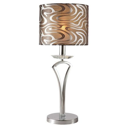 Pretty Ripples Table Lamp From The All That Glitters Event At Joss And Main Retro Table Lamps Lamp Table Lamp
