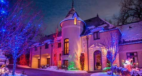 Outdoor Christmas Lights Ideas for the Roof Everything Christmas