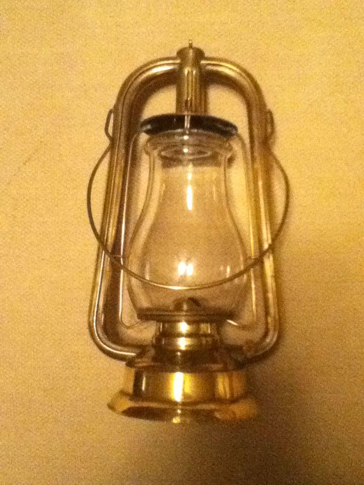 """Brass Lantern,""""L.W. Tubular Brass Co. Us."""""""