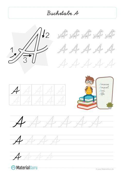 schreiben lernen 1 klasse in 2020  schreiben lernen