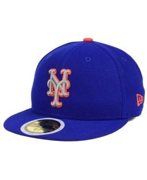 New Era 59Fifty KIDS Cap AUTHENTIC New York Mets