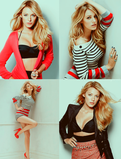 Blake looks amazing in these shots, loving her style!