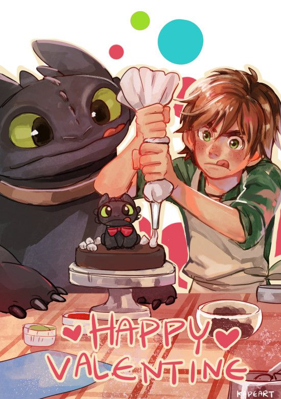 Happy valentine by kadeart how to train your dragon toothless happy valentine by kadeart how to train your dragon toothless hiccup ccuart Choice Image