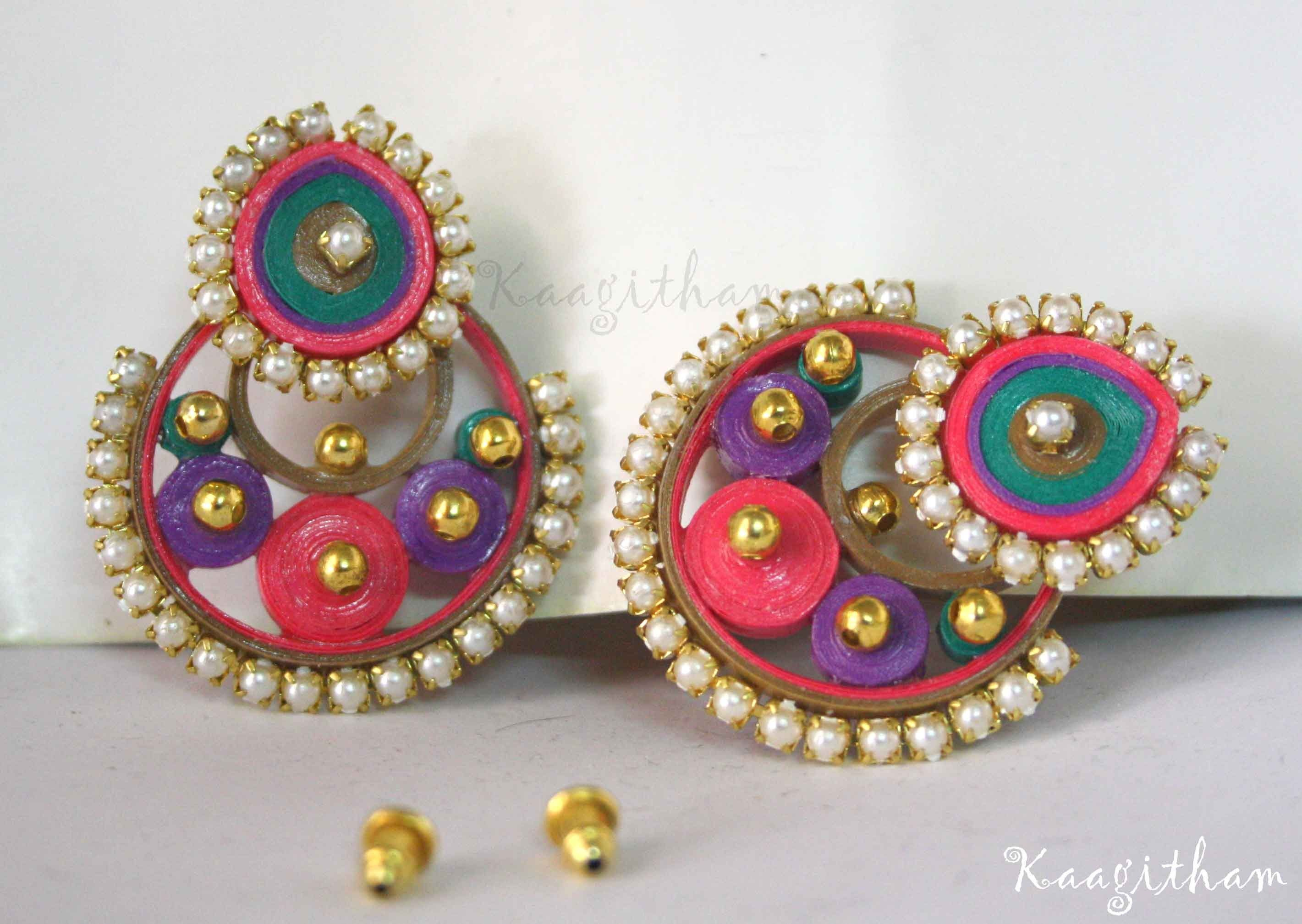 Different Types Of Quilling Jewellery  Google Search