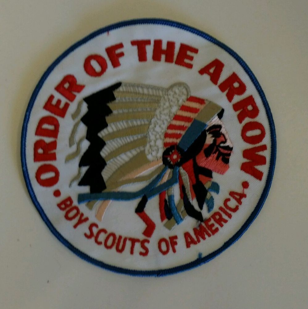 Vintage boy scouts of america bsa large 6 order of the arrow oa vintage boy scouts of america bsa large order of the arrow oa patch nos in collectibles historical memorabilia fraternal organizations buycottarizona