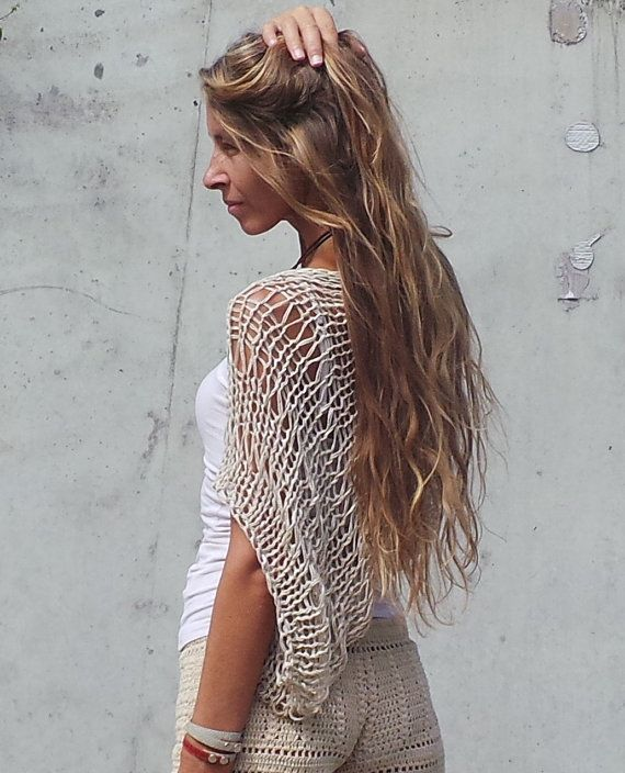 Gold Shrug Golden loose knit weave hand knit shrug | De oro, Oro y ...