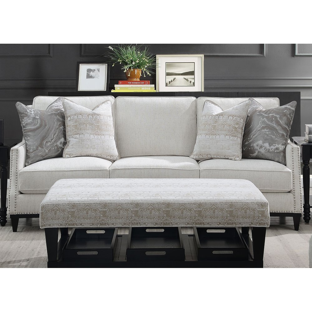 Traditional Light Gray Sofa Ava In 2020 With Images Light