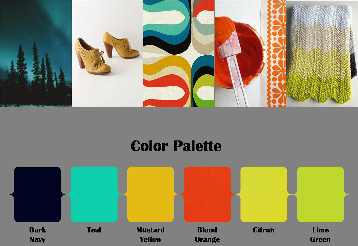Colorful Retro   Color Combinations   Pinterest   Weddings, Wedding ...