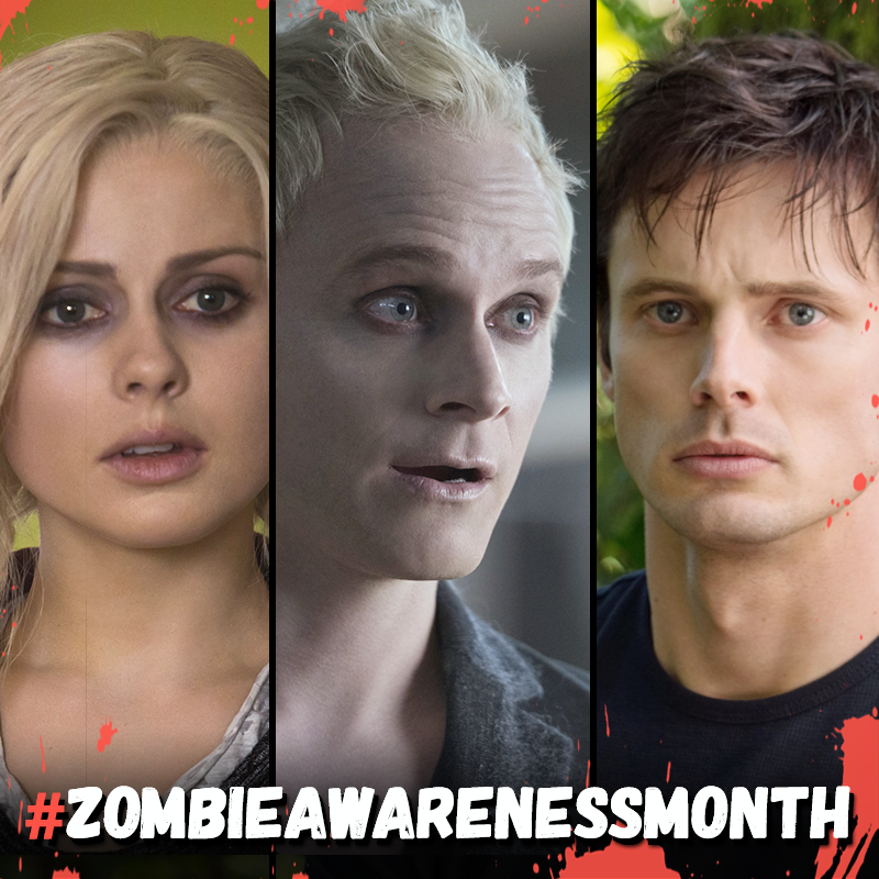 May is #ZombieAwarenessMonth and #iZombie is delivering new episodes every Tuesday at 9/8c. Prepare AND celebrate!