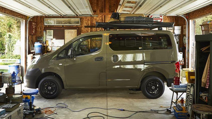 ガレージやキャンプで心踊る無骨なクルマ Nv200バネット カーライフ