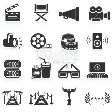Film Camera Old And New Black White Icon Set Icon Set Icon Set Vector Black And White