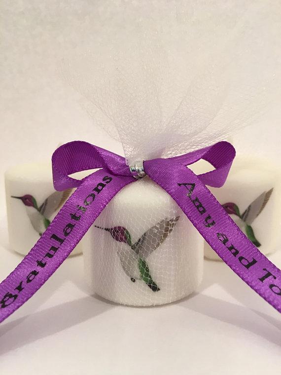 Hummingbird Baby Shower Favors Bridal Shower Favors Animal Theme