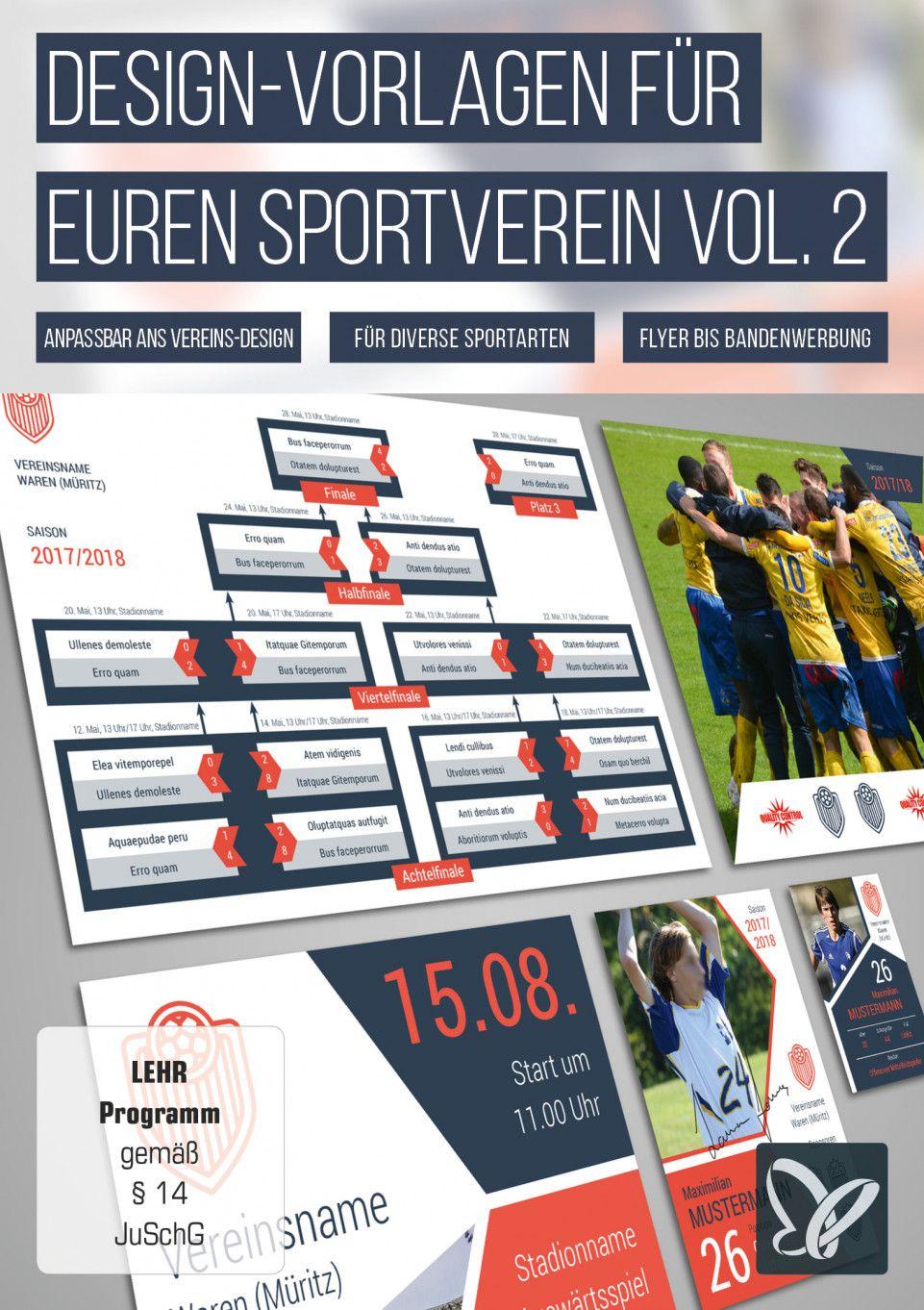 Design Vorlagen Fur Vereine Spielplan Erstellen Fan Karten