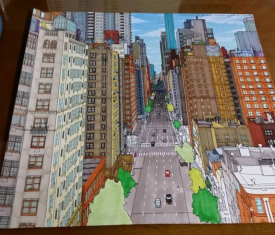 Pin de irina en Fantastic cities | Pinterest | Ciudad, Colorear y ...