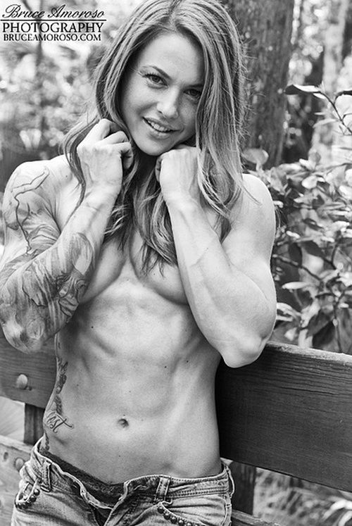Beauty and Sexy Fit. Christmas Abbott | Fitness and Body Building ...