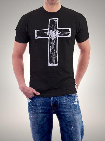 bade4803562de Camiseta Cruz Camisetas Cristãs
